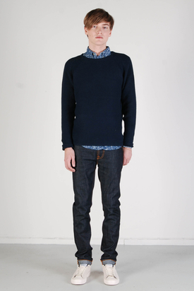 Revolution: Joakim Knit Navy Sweater