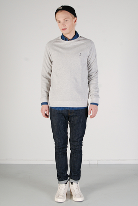 The Blue Uniform: Embo Sweat Grey