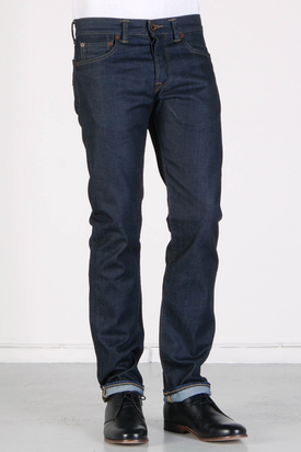Edwin: ED-71 Slim Blue Greaser Wash