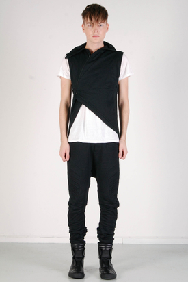 Odeur: Tour Sweat Vest Black