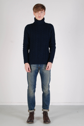 Edwin: Battalion Sweater Navy