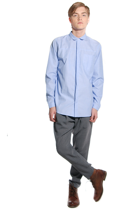 Lagom: Goin Light Blue Shirt