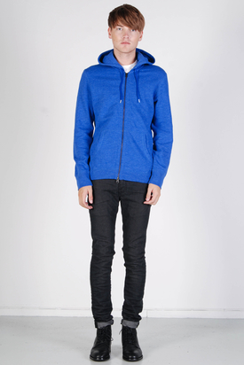 Levis: Heathered Full Zip Hoodie Blue