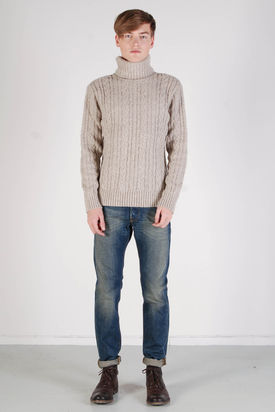 Edwin: Battalion Sweater Beige