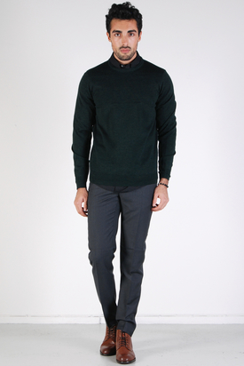 Ben Sherman: Knit Wear Black Pine Marl