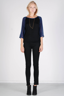 Samsøe & Samsøe: Cotten Blouse Black