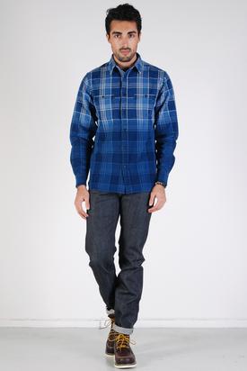 Lee 101: Workman Shirt Indigo