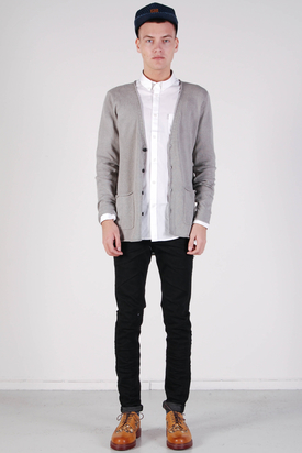Tiger: Grey Smoke Cardigan