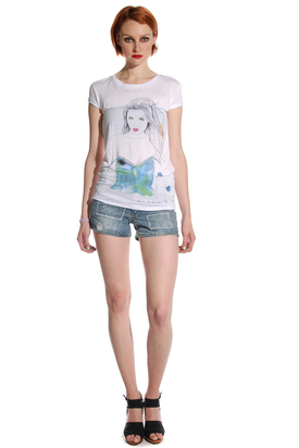 Pop Cph: Viscose Tee Watercolour