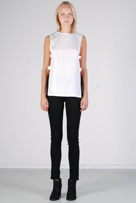 Cheap Monday: Malou Top Dust White