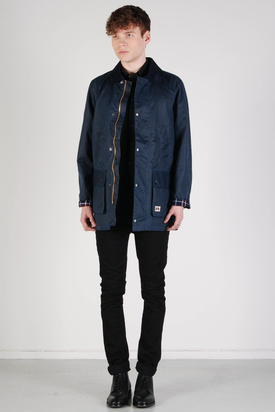Brixtol: Strummer Jacket Wax Navy