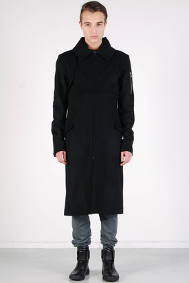 Odeur: Cover Coat Black