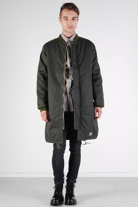 Brixtol: D W Bomber Jacket Olive