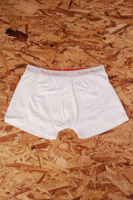 Nudie: Boxers White