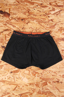 Nudie: Boxers Black