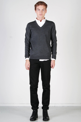 Ben Sherman: Knit Wear V-Neck Chimney