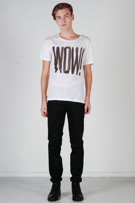 Cheap Monday: Tyler Tee White Wow