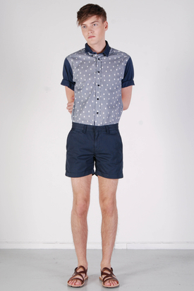Knowledge Cotton App: Twisted Twill Tuffet Shorts