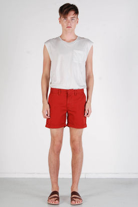 Knowledge Cotton App: Twisted Twill Bossa Nova Shorts