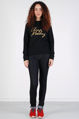 Cheap Monday: Ellie Sweat Black Cheap Gold