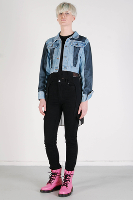 Cheap Monday: Jeans Net Jacket
