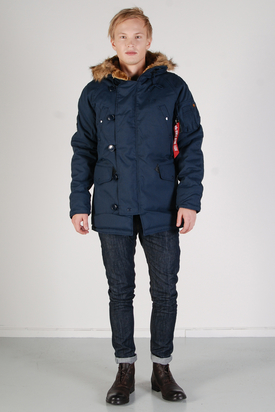 Alpha Industries: Explorer Navy Jacket