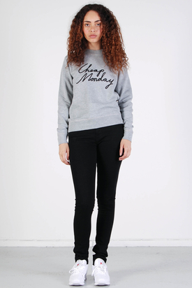 Cheap Monday: Ellie Sweat Grey Cheap Black