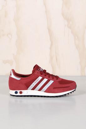 Adidas: LA Trainer Red/Silver
