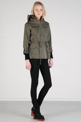 Elvine: Peggy Green Jacket