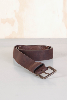 Lee: Double Loop Belt Brown