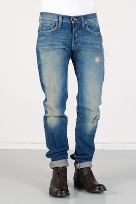 Edwin: ED-55 Relaxed Blue Rainbow Selvage
