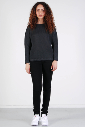 Samsøe & Samsøe: Chub Black Sweater