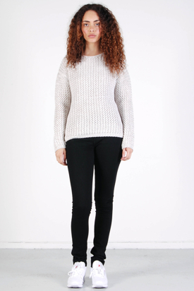 Samsøe & Samsøe: Chub Silvergrey Sweater