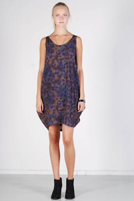 Samsøe & Samsøe: Kalalau Dress Dark Blue Leo