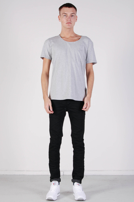 Samsøe & Samsøe: Cursinu Light Grey Tee