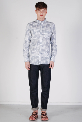 Dr Denim: Bryn Paisley Shirt