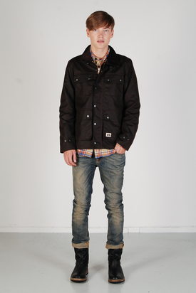 Brixtol: Cole Brown Jacket