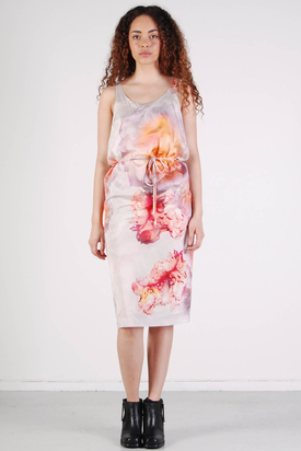 Samsøe & Samsøe: Pica Strap Dress Flower Print