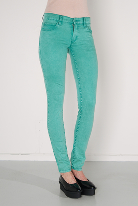 Cheap Monday: Zip Low Twill Ice Green