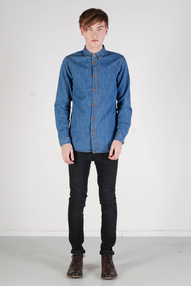 Dr Denim: Aiden Blue Used Shirt