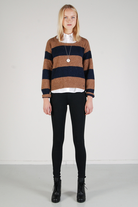 Levis: Rugby Stripe Crew Neck Sweater