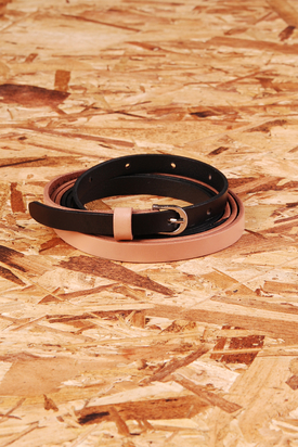 Cheap Monday: Contrast Belt Black