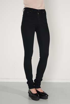 Nudie: High Kai Black Jeans