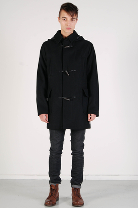 Ben Sherman: Melton Black Jacket