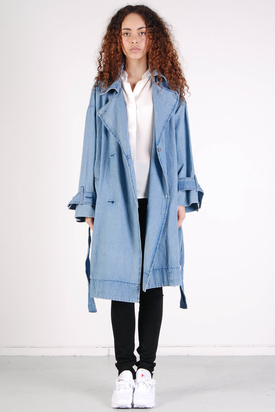 Cheap Monday: Rainy Coat Left Eye Blue