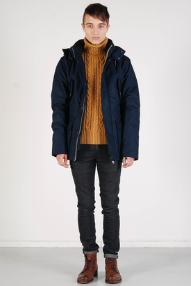 Elvine: Sergej Dark Navy Jacket