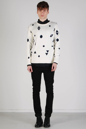 Revolution:  Knit Pattern White