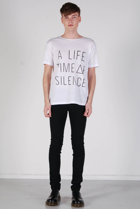Cheap Monday: Tyler Printed White Tee
