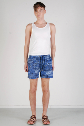 L'Homme Rouge: Ocean Shorts Sea