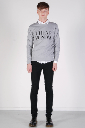 Cheap Monday: Per Sweat Ash Grey Melange